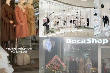 Mở shop quần áo cần bao nhiêu vốn – Thi công shop giá rẻ