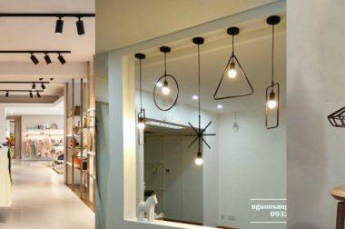 Bạn đã biết cách chọn đèn trang trí cho shop thời trang chưa