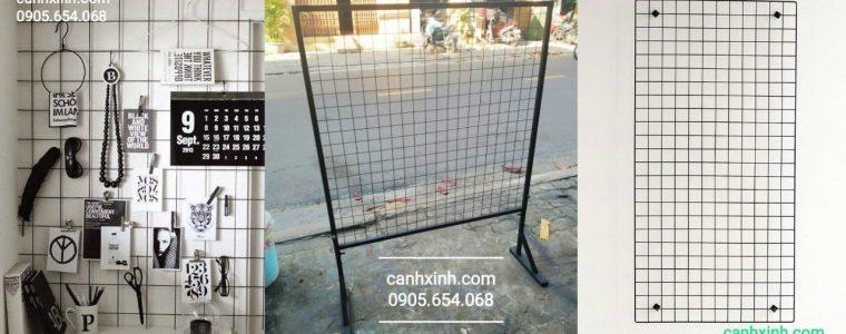 khung lưới treo hàng, khung lưới treo phụ kiện