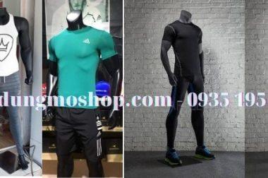 Manocanh thể thao cao cấp cho shop thời trang